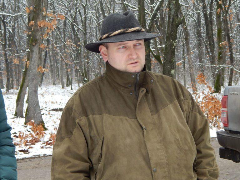 """Кирил Колев, директор на Държавното ловно стопанство """"Воден-Ири Хисар"""""""