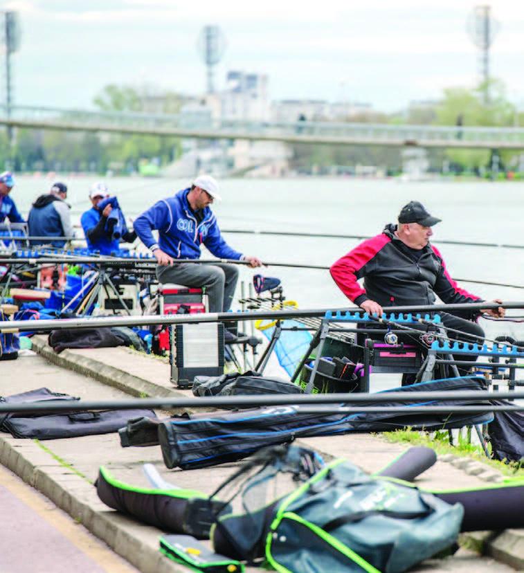 БФРС – риболов на плувка – Атракции с шарани на Гребния канал